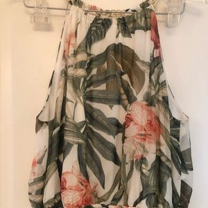 Tropical Maxi dress